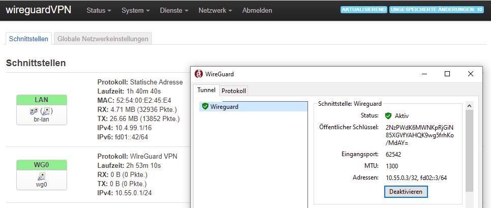 Wireguard GUI
